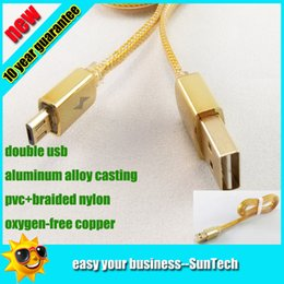Wholesale 80pcs copper A luxury aluminum alloy double side USB Noodle Flat Braided Cord woven Fabric Wire charge Data nylon Cable for smartphone