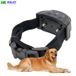 Wholesale No Bark Electronic Collar Pet853 Anti Dog Bark Collar With Levels Shock Pet to Let Dog Bark Stop PD853