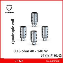 SMOK Sub TFV4 Triple Coil T3 Head SMOK TFV4 Quadruple Coil Q4 Head Fit For TFV4 Mini Tank Vs SUBOX COIL T3 COIL