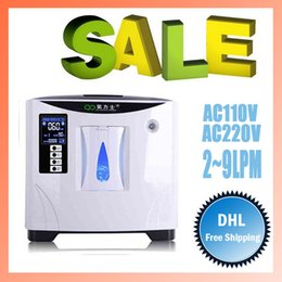 Wholesale 9LPM PSA Oxygen Bar Purity Oxygen concentrator for home travel office Powerful Oxygenerator Oxygen making machine XY S US AC V V