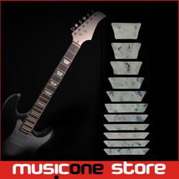 Guitar Bass Fret Sticker, DIY sticker on guitar neck - Trapezoid shape set MU1288-13