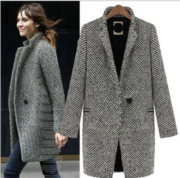 women's Swallow gird long trench coats Lapel Neck leisure outwear suit coat S-XL CO 1