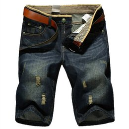 Wholesale-Short Jeans men's fashion Shorts men big sale Summer clothes new fashion brand Men's short pants