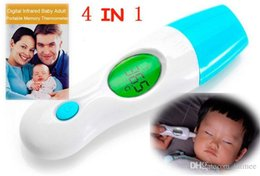 Wholesale New accurate Digital in Thermometer Baby Or Adult Ear Infrared Forehead temperature Best Infrared Thermometer Multi Functional