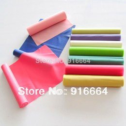 hot selling wholesale latex fitness resistance band set for bodybuilding yoga equipment