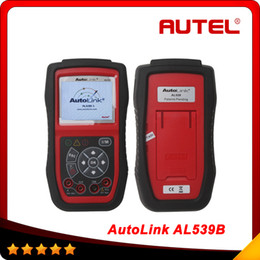 Wholesale 100 Original AUTEL AutoLink AL539b OBDII and Electrical Test Tool with AVO Meter advanced AL539 Car Scan Tool