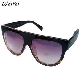 Wholesale New Famous Designers C line Brands Sunglasses Men Flat Top Smiley line Audrey CL41026 fashion women glasses lunettes de soleil