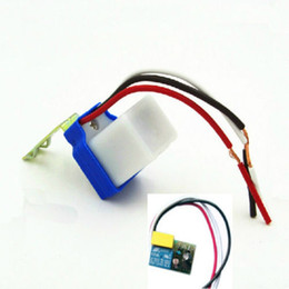 Wholesale-DC AC 12V 10A 50-60Hz AS-10 Auto On Off Street Light Switch Photo Control Sensor in selling