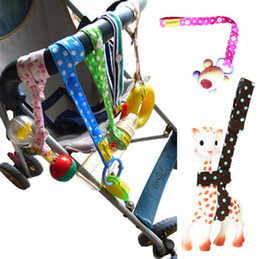 Wholesale Lemommom Toy Saver Sippy Cup Baby Bottle Strap Holder For Stroller High Chair Car Seat Cotton Strollers Accessories