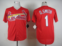 Wholesale Newest Red Cardinals Ozzie Smith Baseball Jersey Hot Sale Baseball Wear Discount Cheap Men Sports Jerseys Embroidery Name and Number