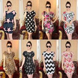 2016 Fashion Women New style Plus size Round Neck Florals Print vest Dress Saias Femininas Summer Casual Clothing
