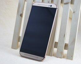 Aluminum Alloy 1:1 HDC One M8 Quad Core 1.3GHz 1GB 8GB Android 4.4.2 KitKat 3G WCDMA Single Micro Sim Card 8.0MP Camera Smart Phone