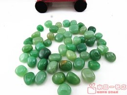 Wholesale Natural crystal aventurine jade gravel fish tank flower crystal pot magnets pillow stone decoration