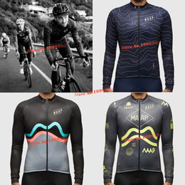 Wholesale New MAAP Team Pro Cycling LONG Jersey Cycling Clothing bib Shorts MTB ROAD Riding Breathing air D gel Pad