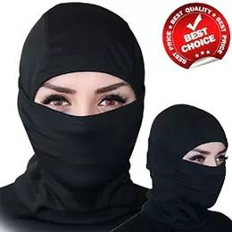Wholesale Outdoor Sports Balaclava Mask Windproof Cotton Milk Silk Full Face Neck Ninja Headgear Hat Riding Hiking Cycling Masks