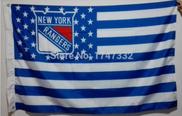 New York Rangers NHL National Hockey League Flag hot sell goods 3X5 FT 150X90CM Banner brass metal holes