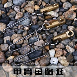 Wholesale 2015 hot salejigfish strengthen corrosion resistant copper head pins gravity Fishing Tackle Fishing