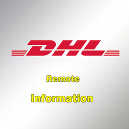 Wholesale DHL Remote Area Service Charge or Sample Product shipping cost