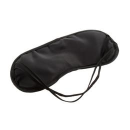 Wholesale black sleeping eye mask Travel Aid Eye Mask Sleep Sleeping Shade Cover Nap Light Soft Rest Blindfold