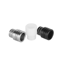 Stainless Steel Resin 510 Drip Tips SS Black White Wide Bore Drip Tip for 510 EGO Evod Atomizer Mouthpieces E Cig Vaporizer