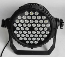 Free shipping High quality 54X3W Silent Warm White RGB RGBA RGBW Outdoor LED Par Light Waterproof Stage Lighting