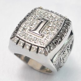NCAA.Rugby orange bowl 2000 university of Oklahoma fashion ring Collection of fans