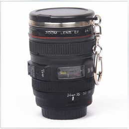 Wholesale 60ml OZ Mini Stainless Steel Mug Cup Vodka Camera Lens Spirits Portable Thermos Cup M133 Mug