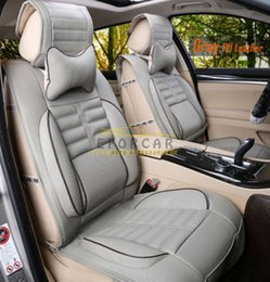 Wholesale 2015 New Universal Car Seat Cover Sets for Seats Car PU Leather Auto Cushion