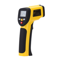 Wholesale Double Laser High Precision Non contact IR Digital Infrared Thermometer Temperature Tester Pyrometer Range F E1125