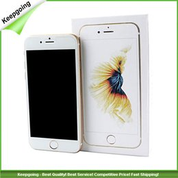 Wholesale 4 inch I6S cell phones MTK6572 Dual Core Ghz M GB show GB Goophone Android5 Smart Phone also have S6 I6S PLUS phones