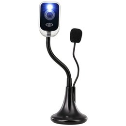 Free Shipping,HD, Desktop Camera,With a Microphone, USB, Free Driver, Night Vision Video Camera,Black