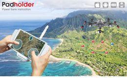 Wholesale Walkera Padholder Walkera Tablet Pad Holder Power bank for Scout X4 Tali H500 Voyager Base Ground Station order lt no track