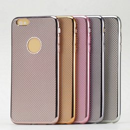 The new ultra-thin Series and 5 Series for IPHONE6 preparation grain soft protective shell plating beautiful fashion shell free shipping