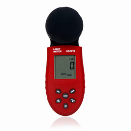 Wholesale 200 Digital Light Meter Illuminometer LCD Luxmeter Lux FC Luminometer Photometer Measure Tester Portable Handheld T0014