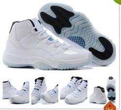 Wholesale Famous Men Trainers Retro XI s Men s Basketball Shoes Top Quality Designer Sport Shoes White Black Legend Blue