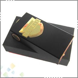 Cobre vaporizador mod en venta-2015 Nookie Box Mod vaporizador Clone Vape Negro Nookie Mecánica pin mods cobre encaja doble 18650 Nookie Mod 510 hilo de DHL