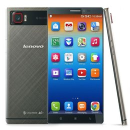 Wholesale 3GB GB Lenovo VIBE Z2 Pro G LTE inch K QHD Quad Core Qualcomm Snapdragon GHz CPU GPS MP Camera Metal Smartphone