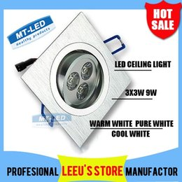 Wholesale By DHL Dimmable Led Ceiling light W LED Recessed Ceiling Down spot Light V led bulb lamp downlight lighting spotlight