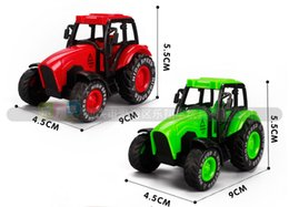 Wholesale Farm Tractor toys simulation model styles of colors of Tractor back of the Tractor Farm model of Kids toys
