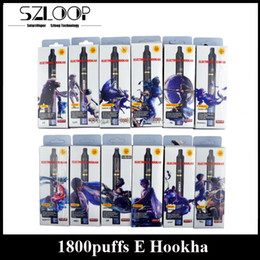 Wholesale Zodiac Puff Disposable E Cigarettes Constellation E Hookha Shisha Pens By LUD Fruit Flavour Tobacco Flavours