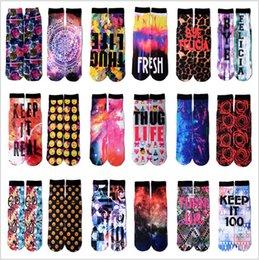 Wholesale BBA3778 ps Unisex color D odd sox socks basketball sports socks street galaxy cotton hip hop socks D printed socks stockings hosiery