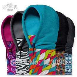 Wholesale High Quality Fleeces Face Mask Ski Caps CS Headgear Warm Scarf Riding Hoodie Multi functional Caps Many Styles for Your Choice