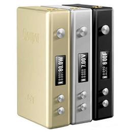 Cloupor gt en Ligne-Nouveaux Cloupor GT TC 80W Box Mod température mods de contrôle 3 couleurs correspondent batterie 18650 vs mini cloupor en plus
