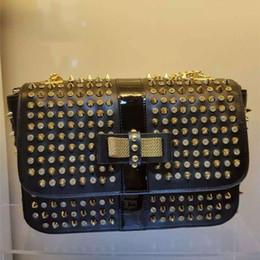 Wholesale Rivet Ladies Shopping Shoulder Bag Best Classic Luxury Bag with Bow Fashion Cheap Women Shoulder Bag High Quality