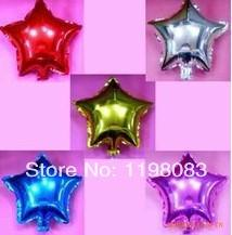 Wholesale inch Five Pointed Star For Wedding Birthday Party supplier decoration Ballons Aluminum Foil Balloon