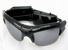 High quality Mini Sunglasses camera Audio Video DV USB Drive Sport Camcorder digital video recorder fashion eyewear camera