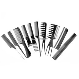 Wholesale Professional Basic Makeup Tools Daily Hair Comb Set kits Good for Barber Hair Styling