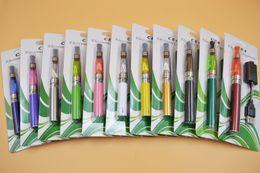 Métal cas ecig à vendre-Ego kit de démarrage CE4 atomiseur Cigarette électronique e cig kit 650mah 900mah 1100mah EGO-T blister case Clearomizer Ecig Dhl Free