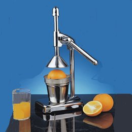 Wholesale 37 cm Stainless Steel Juicer Manual Juicer Lemon Orange Juice Machine Blender Hand Squeezers Juicer