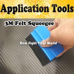 Wholesale Soft Flexible M Felt Squeegee Vinyl Wrap Application Tools Car Vinyl Felt Squeegee Car Wrapping Tool